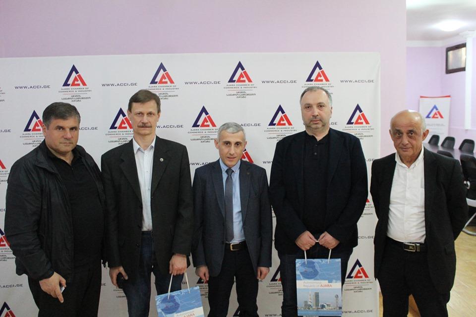 Розпочався процес приєднання ТПП Аджарії до проекту коридору ефективного співробітництва