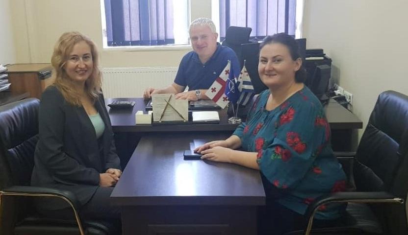 Після підписання договору Батумі-Херсон - After signing the agreement of Batumi-Kherson