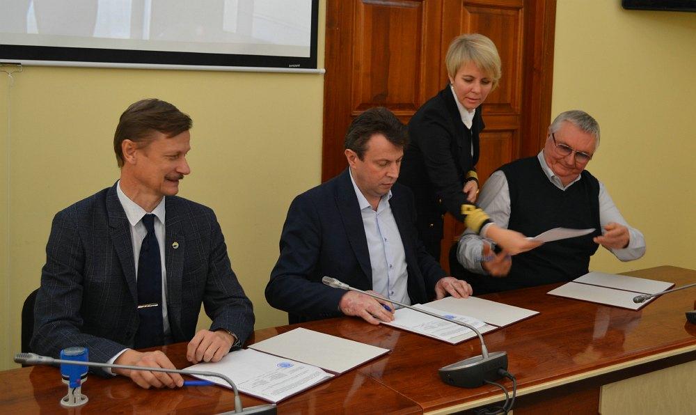 Підписання 30 жовтня 2019 року тристороннього меморандуму про співпрацю між Балтійсько-Чорноморським економічним форумом,  Білоруським науково-дослідним інститутом транспорту «Транстехніка» та Херсонською державною морською академією